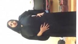 رقص خليع من سعودية ميلف وتكشف جسمها